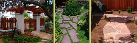 Images of walkways and paths