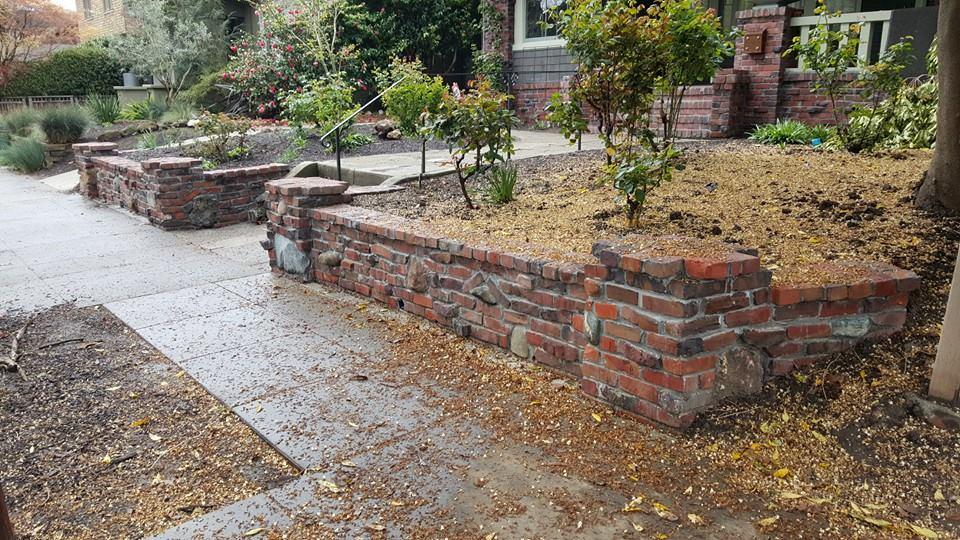 Oakland Piedmont And Berkeley Brick Walls Stairs