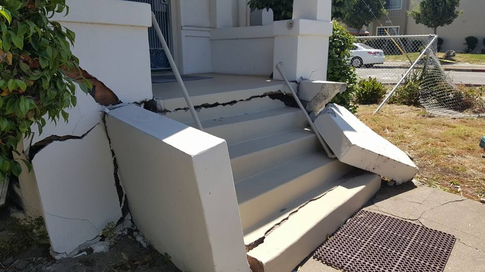 Replacing Damaged Concrete Steps In Oakland Masonry